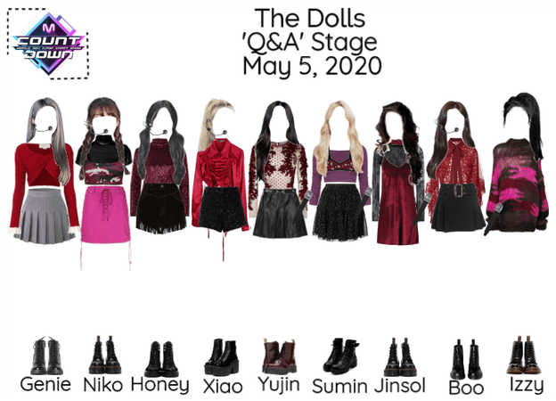 [The Dolls - Q&A] M COUNTDOWN