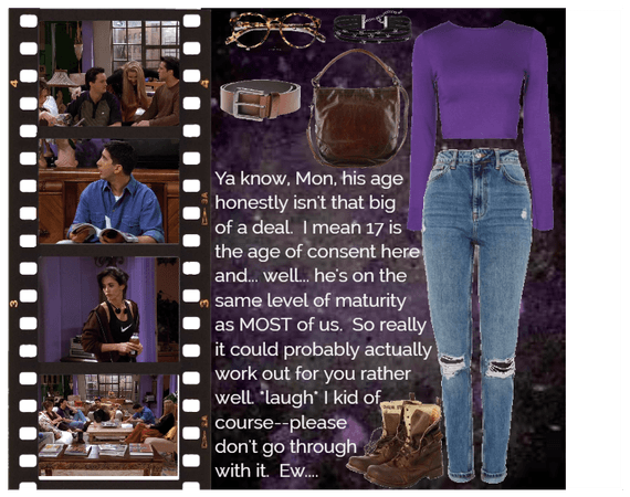 LaaF: The One With The Ick Factor; Day 3 Outfit