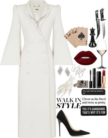 villain in white