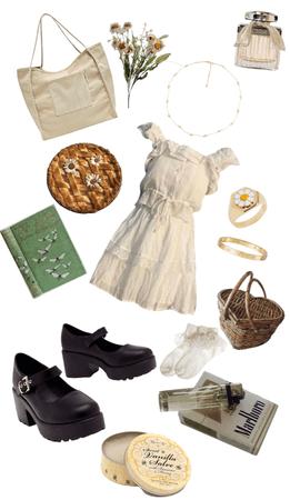 cottagecore/beige colours