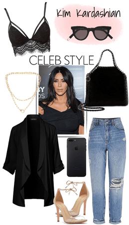 Kim Kardashian: look day/night