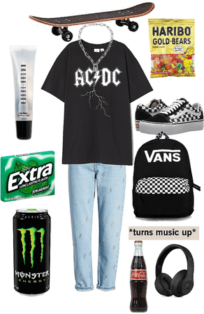 skater girl aesthetic