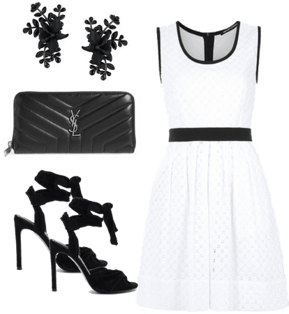 Black, White and Lace