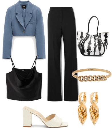 blue blazer 😍