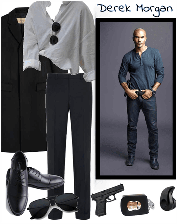 Formal Tailored Derek Morgan