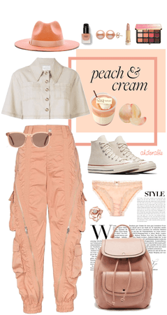 Peaches and Cream for Everyday!