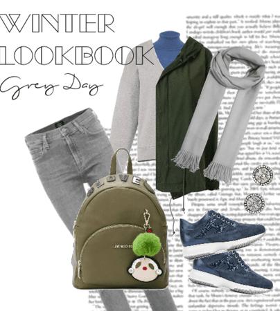 Winter Lookbook: Grey Day
