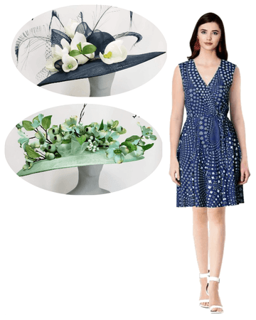 Navy Dress Hat Options