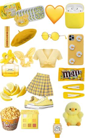 yellow girl 2