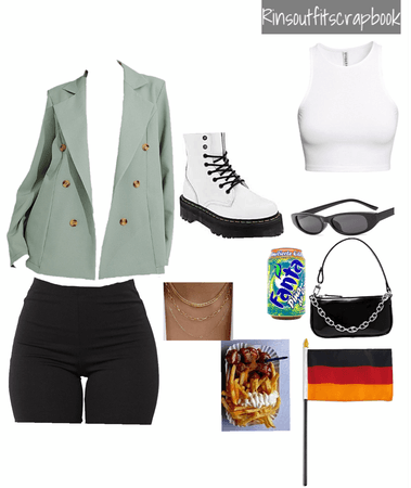 What I'd wear if were in Germany 🇩🇪