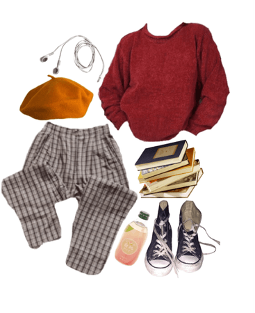 •red sweater•