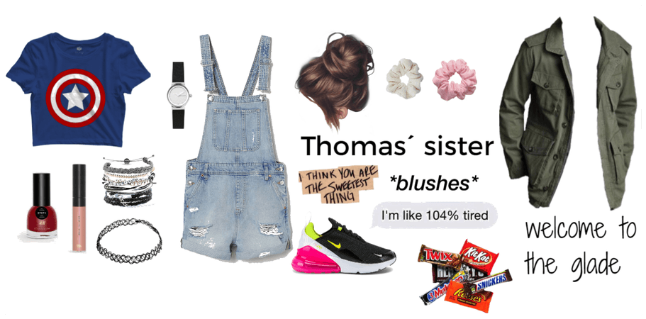 thomas´ sister-wellcome to the glade