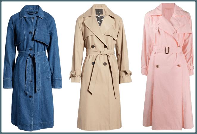Trehnch coat