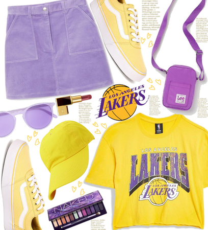 Purple and Yellow Lakers