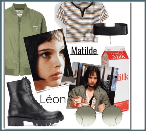 Matilde in Léon movie