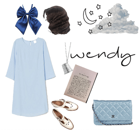 wendy disneybound