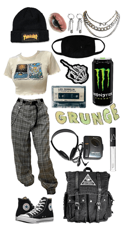 back to school grunge :)