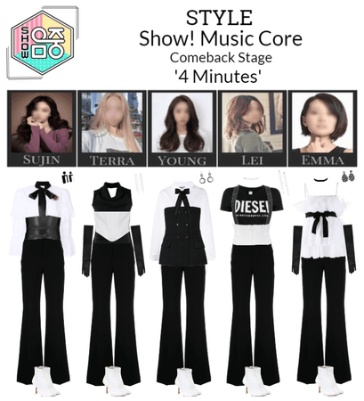 STYLE Show! Music Core '4 Minutes' Comeback Stage