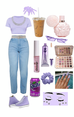 purple - soft aesthetic
