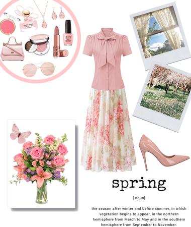 Delicate Spring Look
