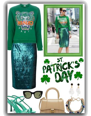 go green - st Patrick's day