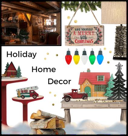Holiday Home Decor Challenge