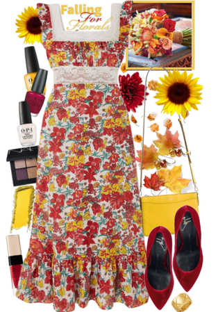 Falling For Florals Outfir Inspo