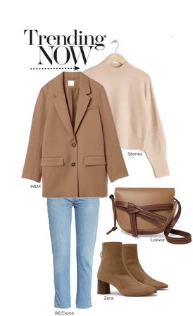 blazers and beige
