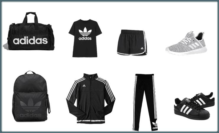 Adidas fashion school and school sports