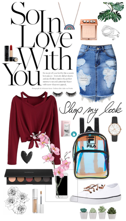 cosy and stylish outfit