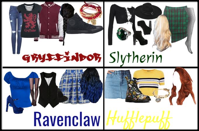 Hogwarts Houses outfits