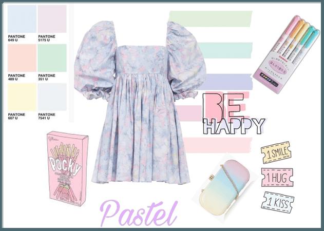 Pastel Puffy Sleeves