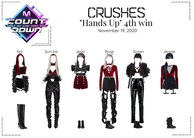 "Crushes (호감) ""Hands Up"" 3rd Win"