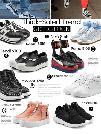 Thick-Soled Shoe Trend
