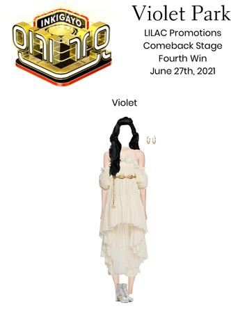 Violet Park | LILAC | Inkigayo