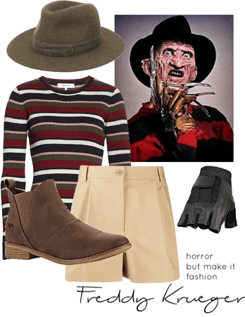 Horror But Make It Fashion: Freddy Krueger