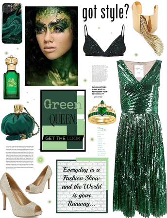 Got style.  GREEN