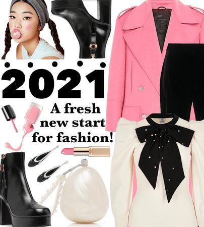 WINTER 2021: Pop Of Pink For A Fresh Start!