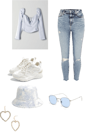 Friend outfit 💙🦋