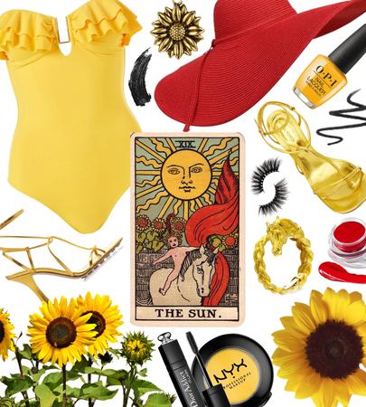 SUMMER 2021: Tarot Cards (The Sun)