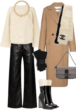coat / chanel