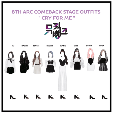 """8th Arc comeback stage """"cry for me"""""""