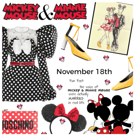 Mickey & Minnie Mouse Day 11/18
