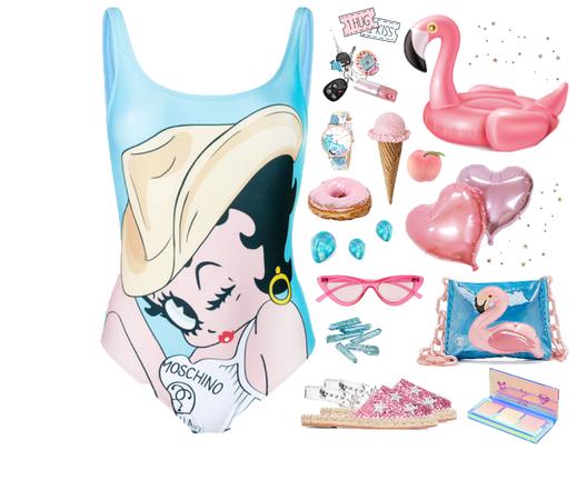 1 Hug 2 Kiss 3 Flamingo