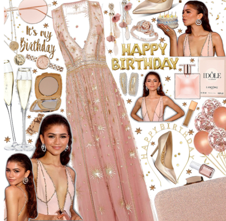 Rose and gold| it's my   birthday