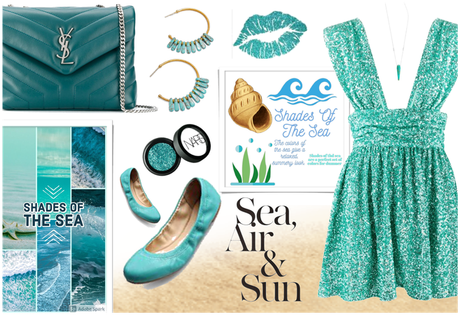 Shades of the Sea: Turquoise