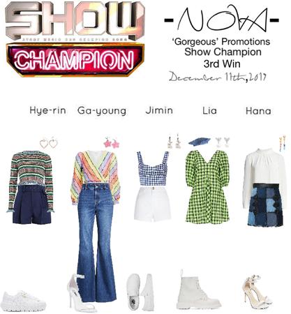 -NOVA- 'Gorgeous' Show Champion Stage