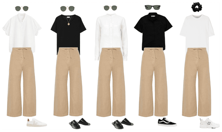 5 ways to style linen trousers
