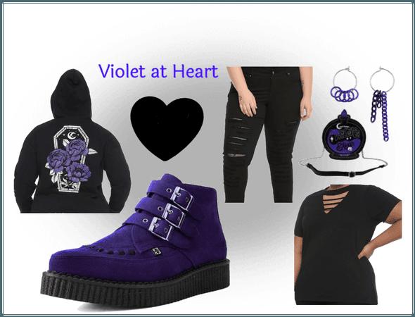 Violet at Heart