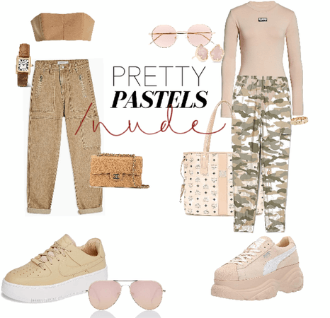 Nude . chic and sporty🙌🏼